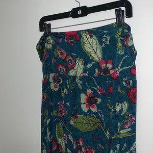 LULAROE - Floral Maxi Skirt